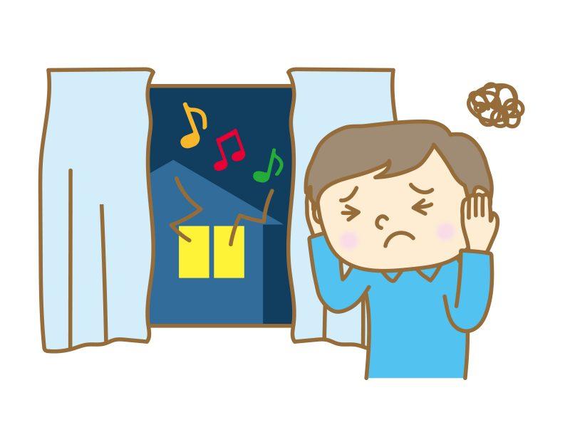 賃貸管理上のトラブル②「騒音」